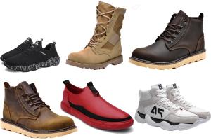男人必需的6款鞋子,超man帅气全靠它们