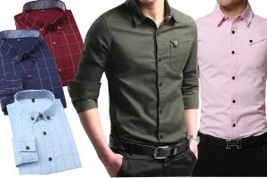 认识 4种衬衫领型,让你征服任何场所