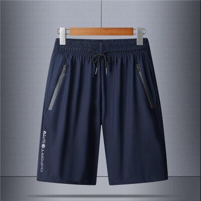 2021新款短裤夏季冰丝速干5分裤加大码休闲短裤