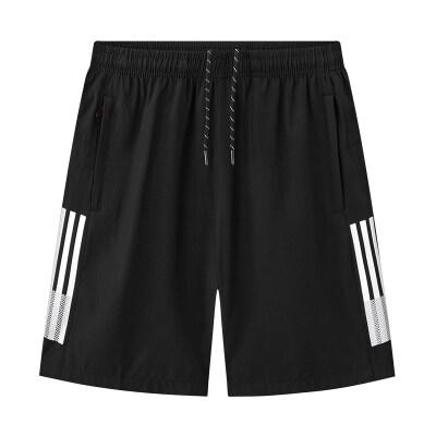 2021年新款夏天休闲运动短裤夏季宽松大码速干男士沙滩裤潮