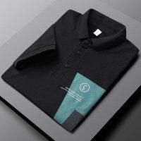 2021夏季款男士Polo衫韩版帅气时尚潮流修身青年休闲T恤