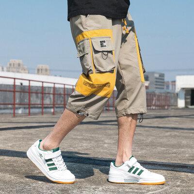 2020夏季天台七分工装裤百搭工装裤多口袋新款潮A107-2