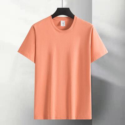2021新款夏季纯棉短袖T恤休闲百搭公版短袖圆领潮流短T