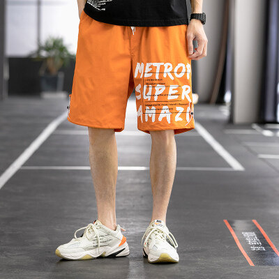 2021夏季日系五分裤短裤潮流百搭休闲男工装裤A107-2