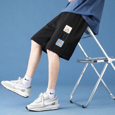 2021夏季新款裤子男士短裤五分裤透气宽松潮流运动裤沙滩裤