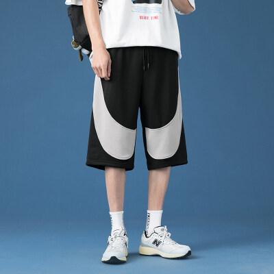 凯勒布夏季新款宽松五分裤潮流球裤