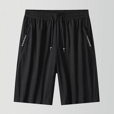 休闲冰丝短裤夏季男士薄款宽松透气百搭五分裤