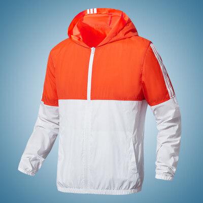 038789防晒服男超薄款夏季透气休闲皮肤衣户外防紫外线外套
