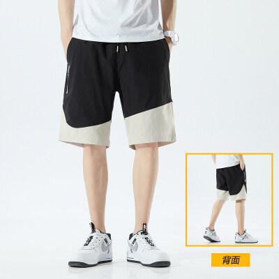 042152男士短裤夏季薄款潮流五分裤子宽松闲健身运动裤男