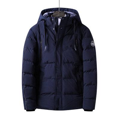 2018冬季新款欧美风大码中青年棉衣保暖防风御寒外贸外套