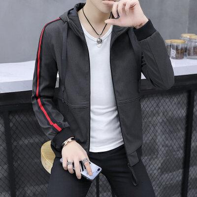 2018春秋季青少年宽松薄款夹克韩版潮流外套学生百搭上衣男士