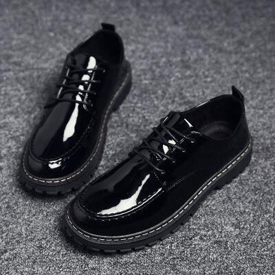 满足【599】秋款亮面皮鞋39-44批40