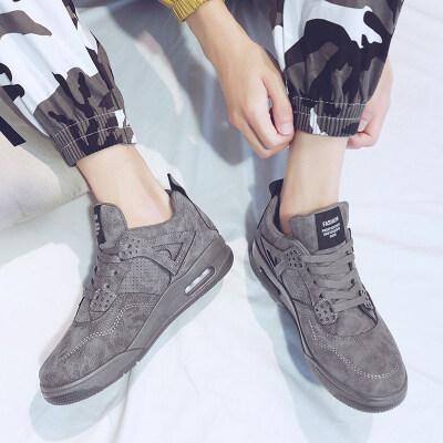 ★K616 秋冬款高帮复古气垫潮鞋大码鞋男鞋运动鞋