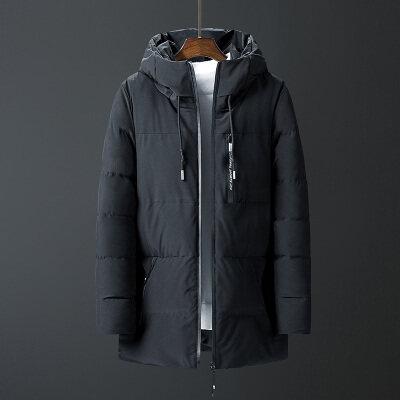 维诺格帝 冬季棉衣男中长款加厚外套棉袄冬天男装棉服