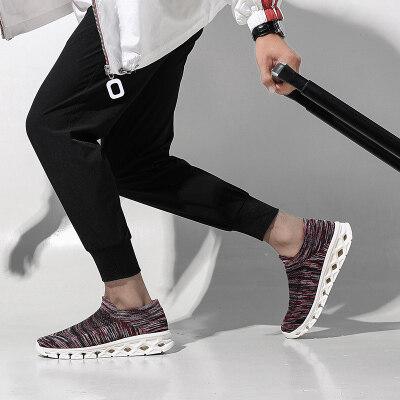 跨境大码户外徒步鞋男女轻便防滑登山鞋秋休闲运动透气旅游袜子鞋