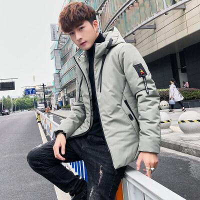棉衣男2018新款秋冬季保暖潮流韩版棉袄棉服棉袄帅气修身男士