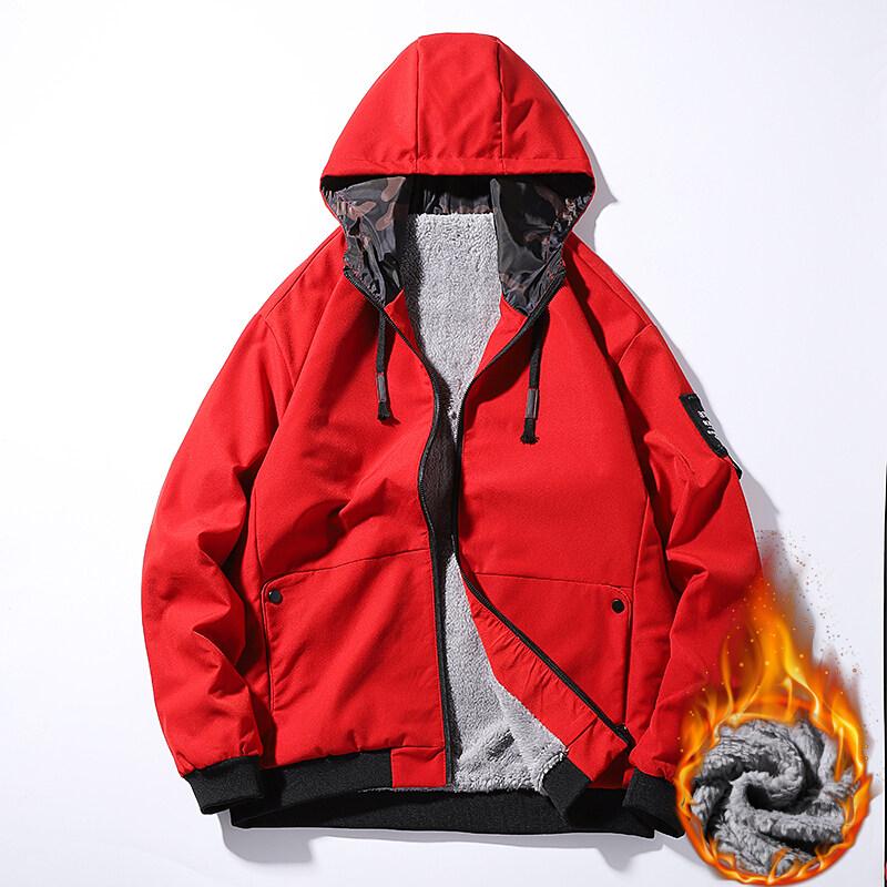 外套男士秋冬季韩版潮流2020新款春秋季加绒加厚夹克男装秋装