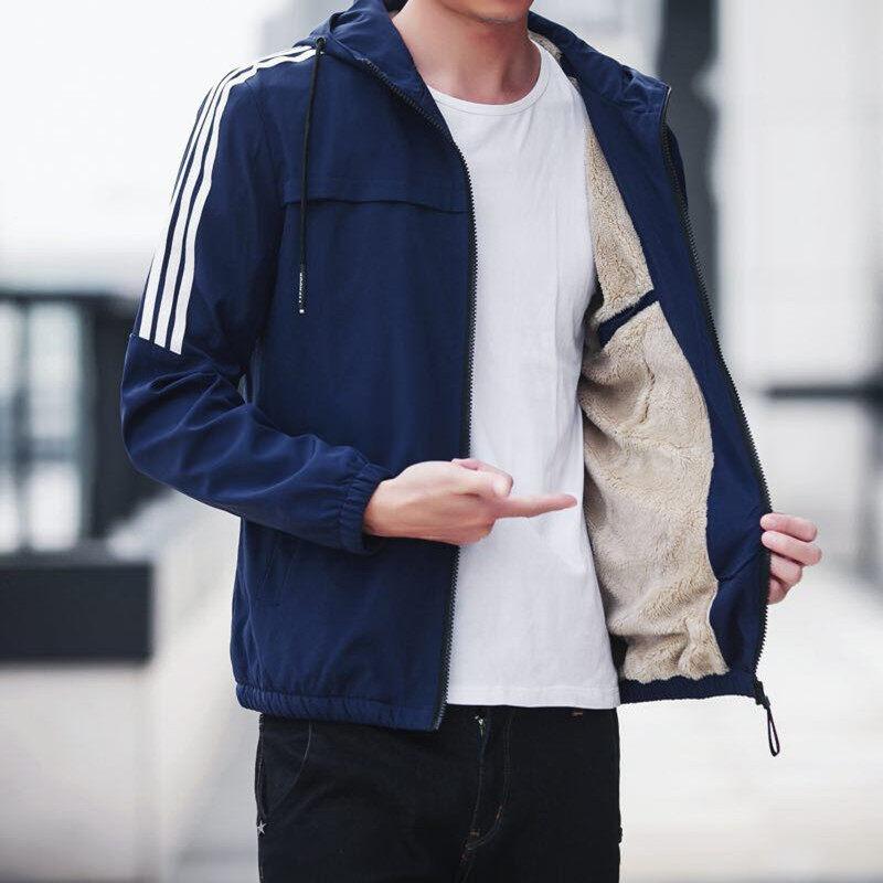 外套男士秋冬季韩版潮流2020新款春秋季加绒加厚夹克男装冬装