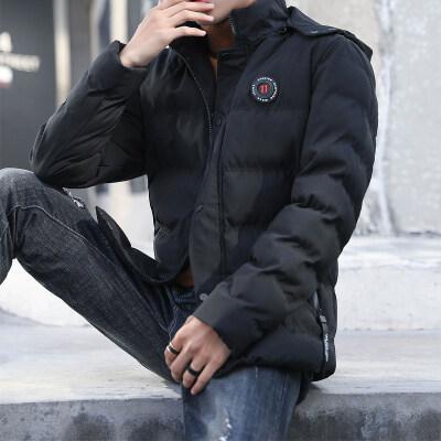 男士冬季棉衣2018新款韩版潮流帅气加厚冬装棉袄羽绒棉服短款
