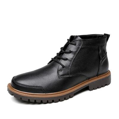 外贸大码百搭短靴 头层牛皮 皮鞋码38-47 长期备货