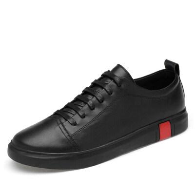 外贸大码 百搭板鞋 优质牛皮 皮鞋码37-47 长期备货