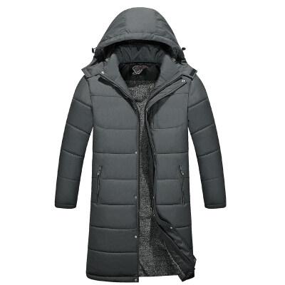 冬季中年爸爸冬装外套中老年棉衣男反季棉服加厚棉袄老人衣服