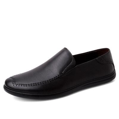 外贸大码百搭休闲男鞋 头层牛皮 皮鞋码36-47 长期备货