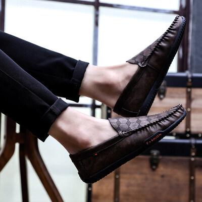 满足【M56】特殊材料复古豆豆鞋39-44批52