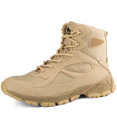 军靴男户外飞行靴缓震登山靴男徒步马丁靴男战术飞行靴07特种兵