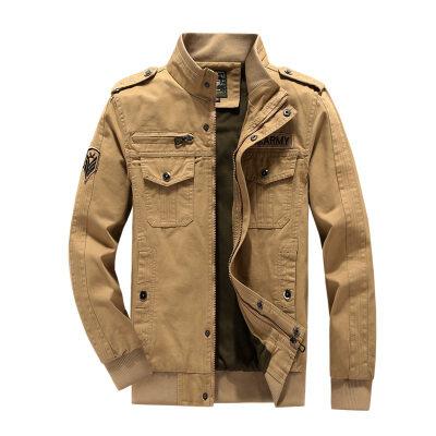 跨境货源加肥加大水洗工装夹克硬汉吉普风格夹克男