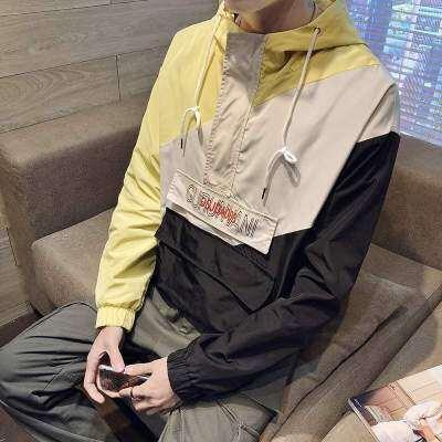 逸秀木木 J19315-P65 100%聚酯纤维 春装 夹克男装 大码