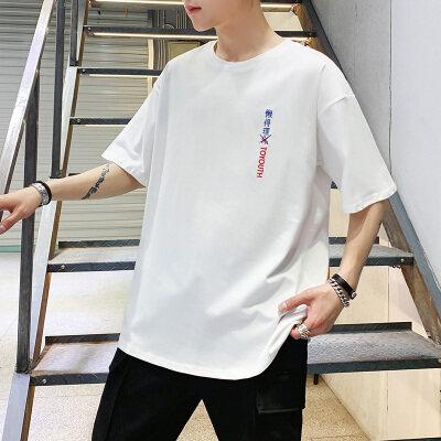 2019新款韩版青少年潮牌T恤短袖