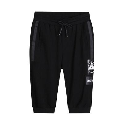 2019夏季新款男士时尚休闲七分裤短裤五分裤青年运动休闲裤