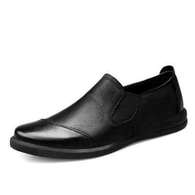 简约时尚男鞋 头层牛皮猪皮里 38-44长期备货F1900
