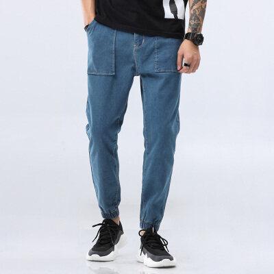 男士牛仔裤青年军工裤长裤四季裤大码男裤