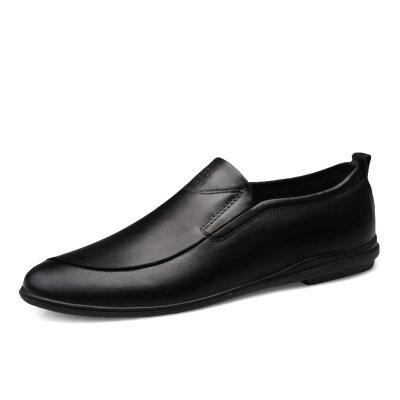 简约商务休闲鞋 头层牛皮 皮鞋码37-45 长期备货