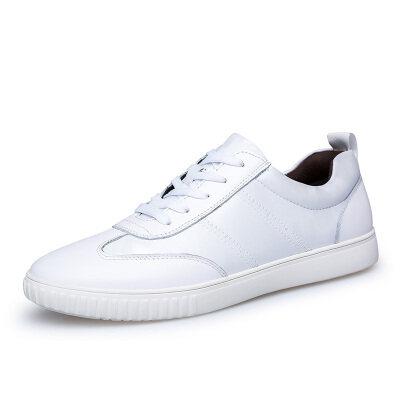 潮流休闲板鞋 头层牛皮+印花布 皮鞋码37-45 长期备货