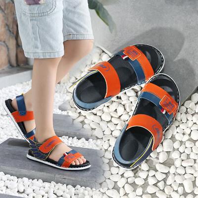 男女童凉鞋沙滩2019新款中大童韩版夏季沙滩儿童防滑学生软底