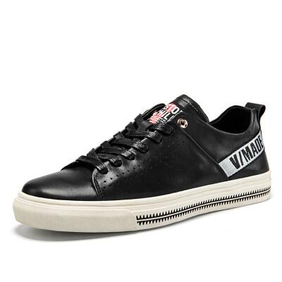 时尚潮流板鞋 头层牛皮 皮鞋码38-43 长期备货