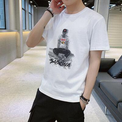 佳乐 T2014-P23 新款大码短袖袖T恤男 多种拍摄风格