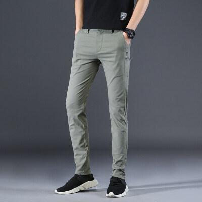 爆款休闲裤 8807 5色(多图+视频)质量好  套图必究