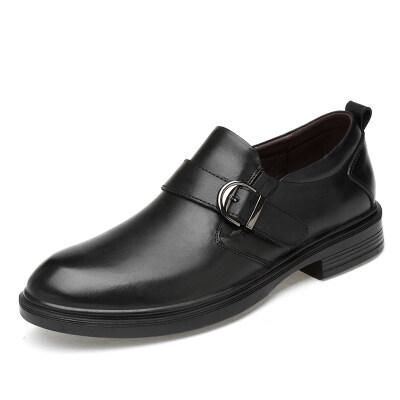 外贸大码时尚商务休闲鞋 头层牛皮 皮鞋码36-49 长期备货