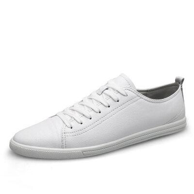 百搭时尚板鞋 优质牛皮 皮鞋码37-45 长期备货
