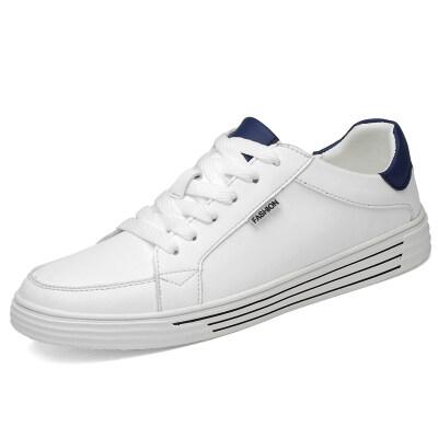 时尚百搭小白鞋 优质牛皮 皮鞋码37-44 长期备货