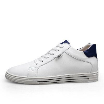 内增简约百搭小白鞋 优质牛皮 皮鞋码37-44 长期备货