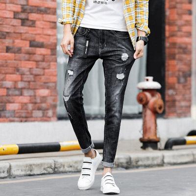 556#夏季新款小脚牛仔裤 多种风格可选