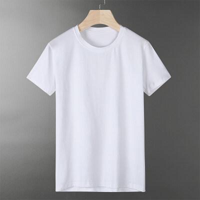 冰瓷棉高品质仿牌做工半袖男士冰感t恤2018夏天短袖体恤男