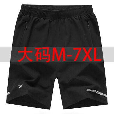 2019夏季运动户外短裤中年加肥加大号速干吸汗短裤
