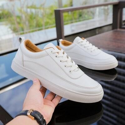 时尚潮鞋男士春季学生小白鞋男休闲板鞋韩版布鞋潮流鞋子百搭男鞋