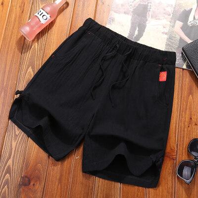夏季短裤男短运动裤男五分裤男卫裤男裤衩休闲裤宽松裤子沙滩裤男